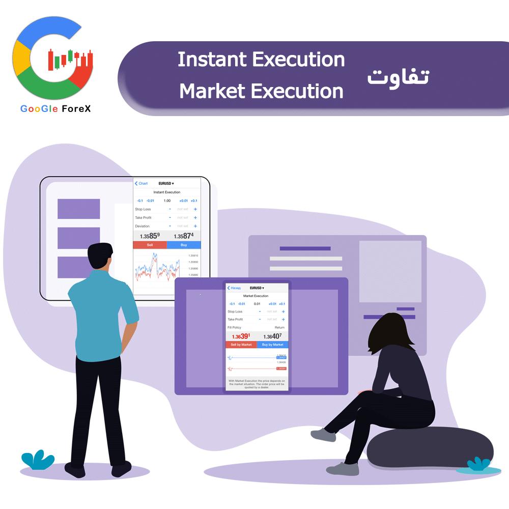 تفاوت market execution و Instant Execution چیست؟