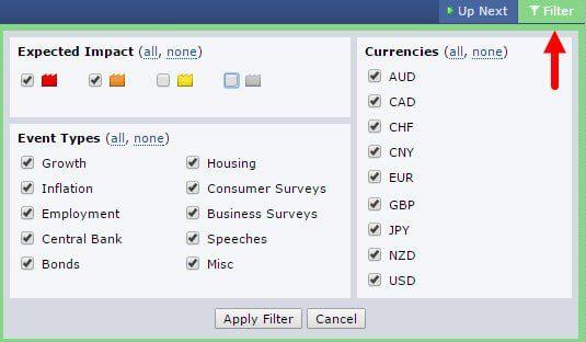 نحوه استفاده از سایت فارکس فکتوری | راهنمای کامل forex factory